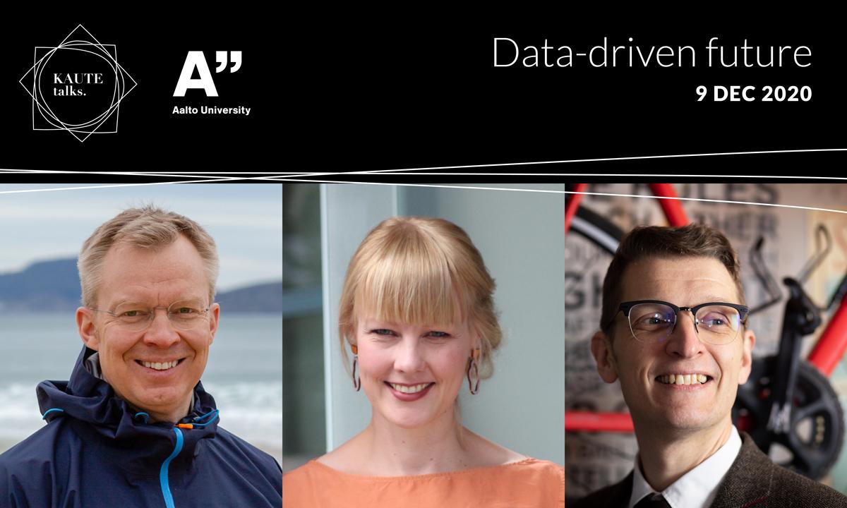 KAUTE talks Datavetoinen tulevaisuus -webinaarin puhujat