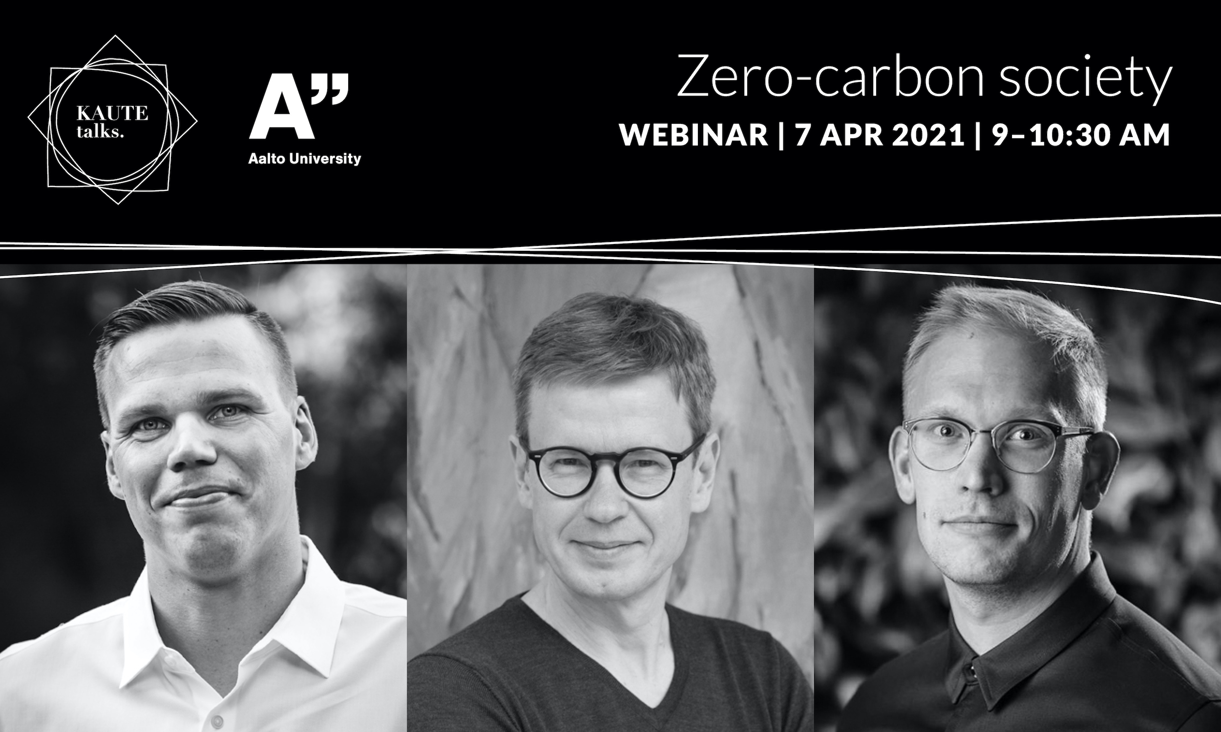 KAUTE Talks Zero-carbon society webinar